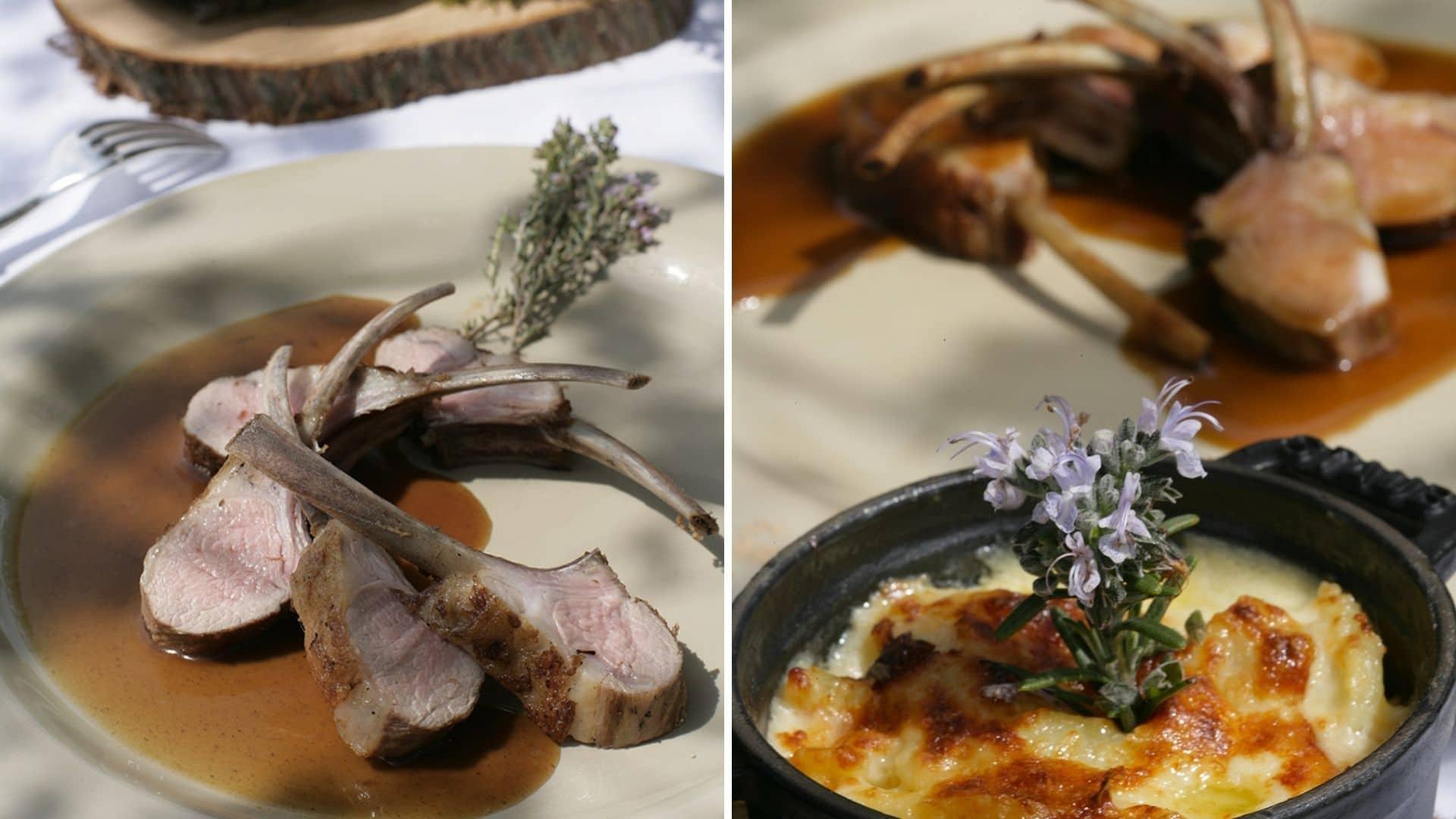 recette agneau chef pâques edouard loubet étoiles
