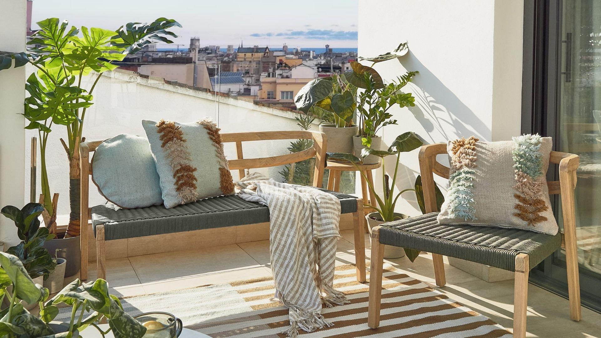 kave home collection printemps été 2021 appartement maison décoration intérieur terrasses balcon soleil