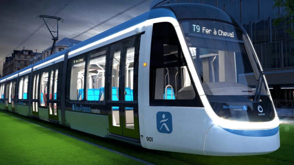 T9 nouveau Tramway Paris Orly mis en service 10 avril 2021 Kéolis