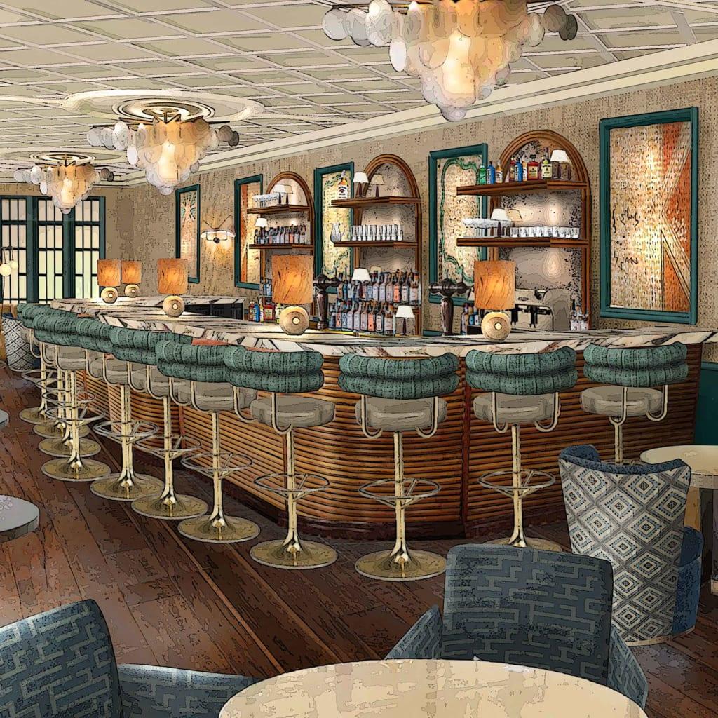 soho house paris ouverture été 2021 images hotel club privé bar restaurant