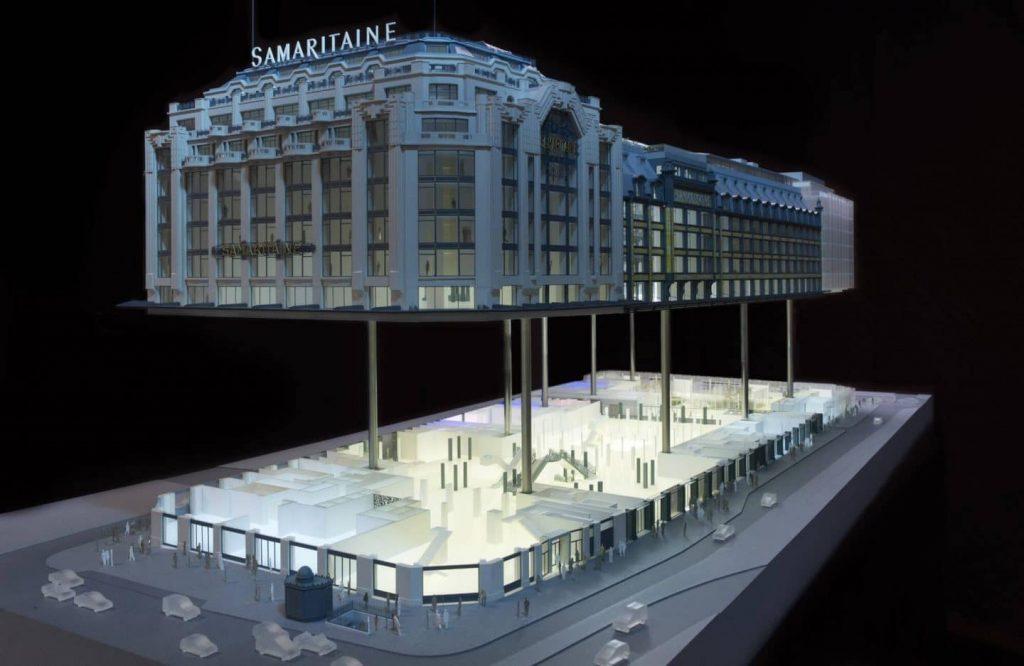 Après plus de 15 ans de travaux Samaritaine réouverture 28 mai 2021 Paris