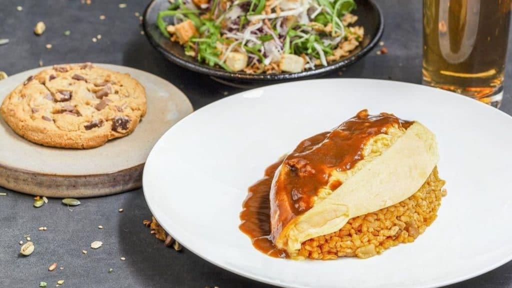 omurice paris popup restaurant japonais omelette riz emporter livraison