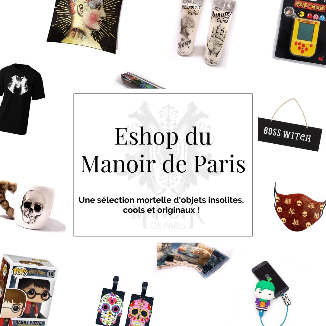 Eshop du Manoir de Paris