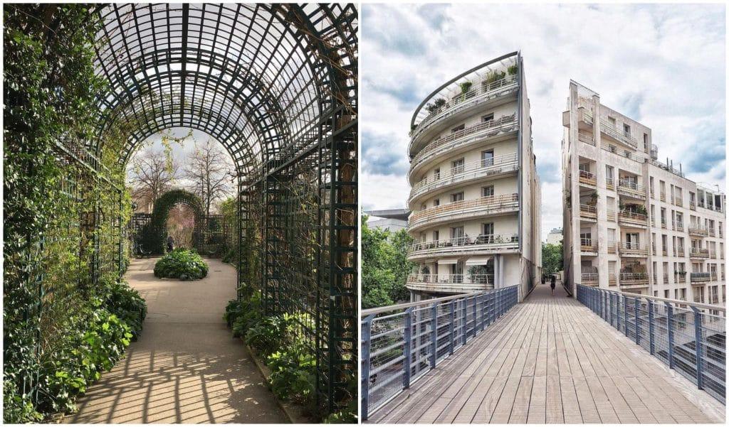 Lieux insolites adresses secrètes incontournables plein-air Paris