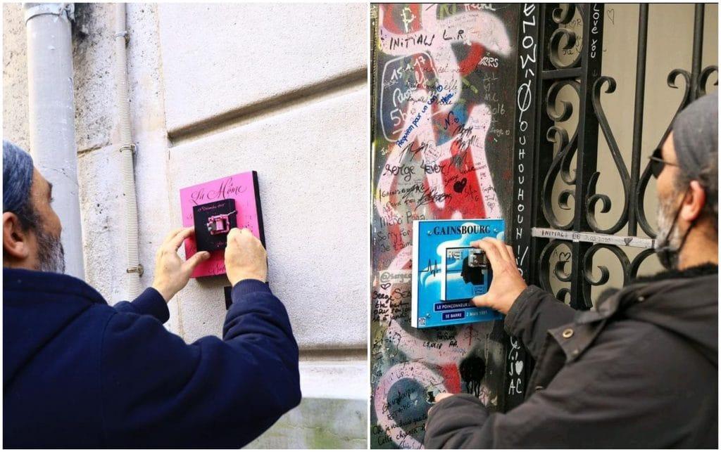 """street art """"street music box"""" boites à musique rues de Paris The Atomik Nation"""