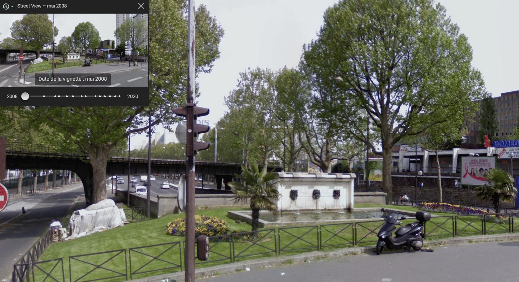 fontaines art déco paris porte de la chapelle disparues égarées perdues