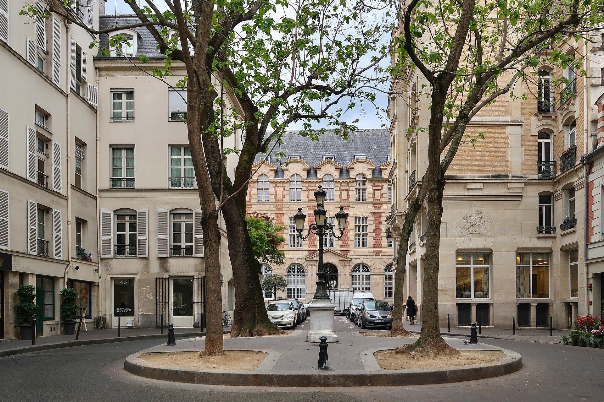 Rue_de_Furstemberg, paris place histoire secrets