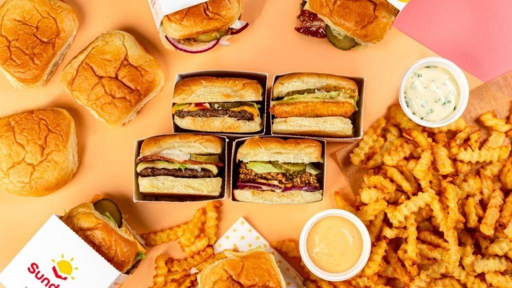 sunday sliders burgers paris nouvelle adresse livraison à emporter restaurant