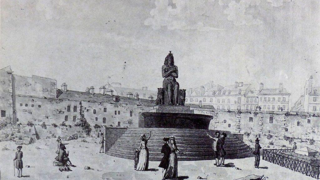 fontaine de la régénération paris histoire lieux disparus vestiges