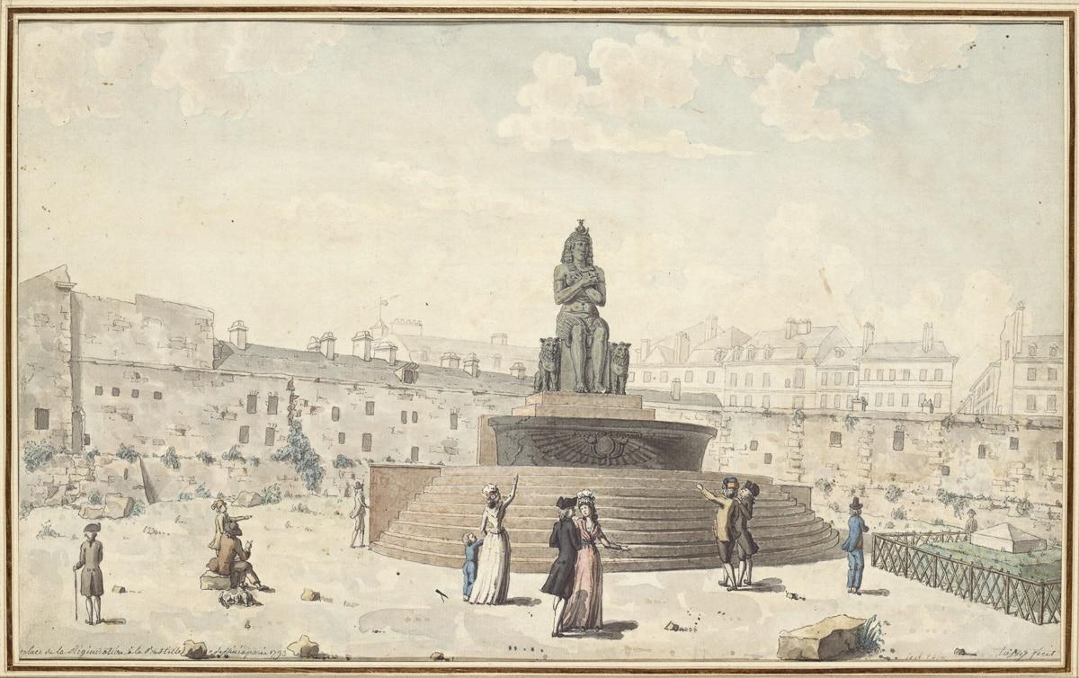 JOSEPH TASSY - PARIS - FONTAINE DE LA REGENERESCENCE