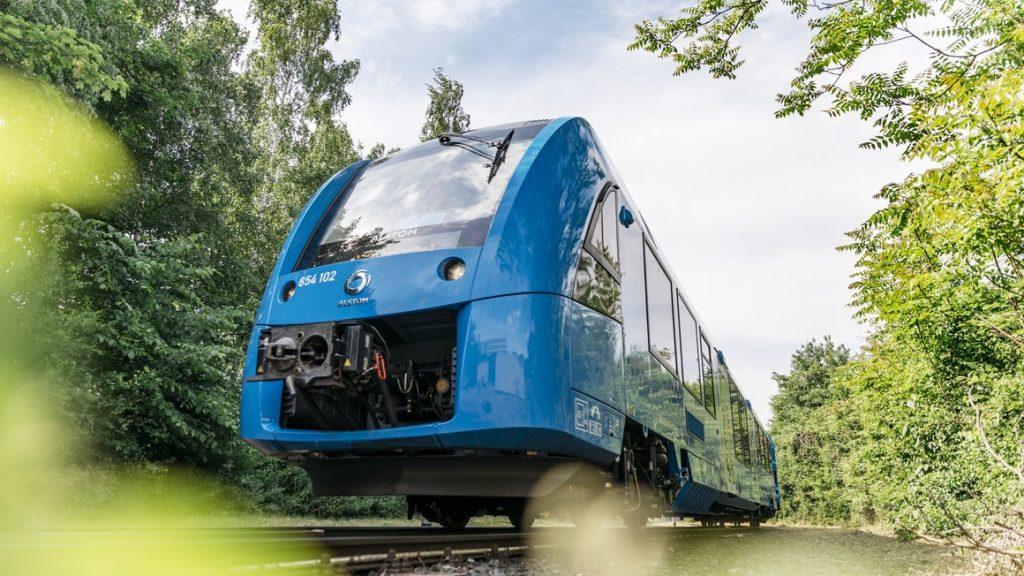 SNCF commande 12 trains à hydrogène 2023