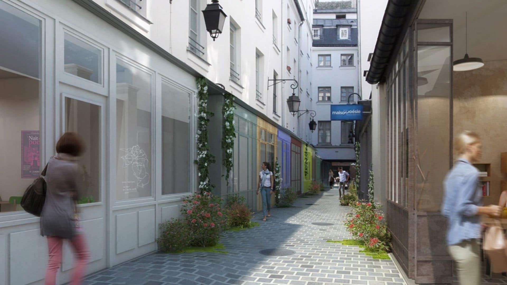 Le magnifique passage Molière en rénovation est à la recherche de 6 nouveaux commerces culturels !