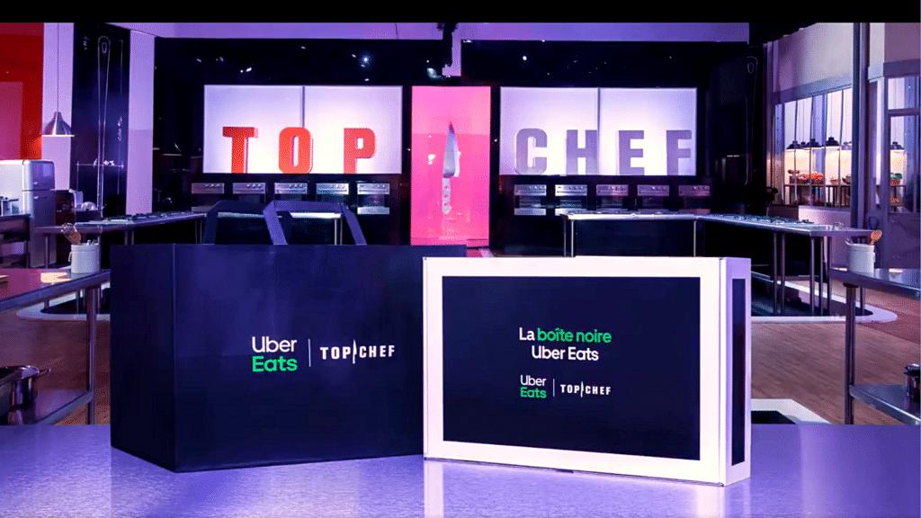 La Boite Noire by Uber Eats x Top Chef chaque mercredi Paris livraison