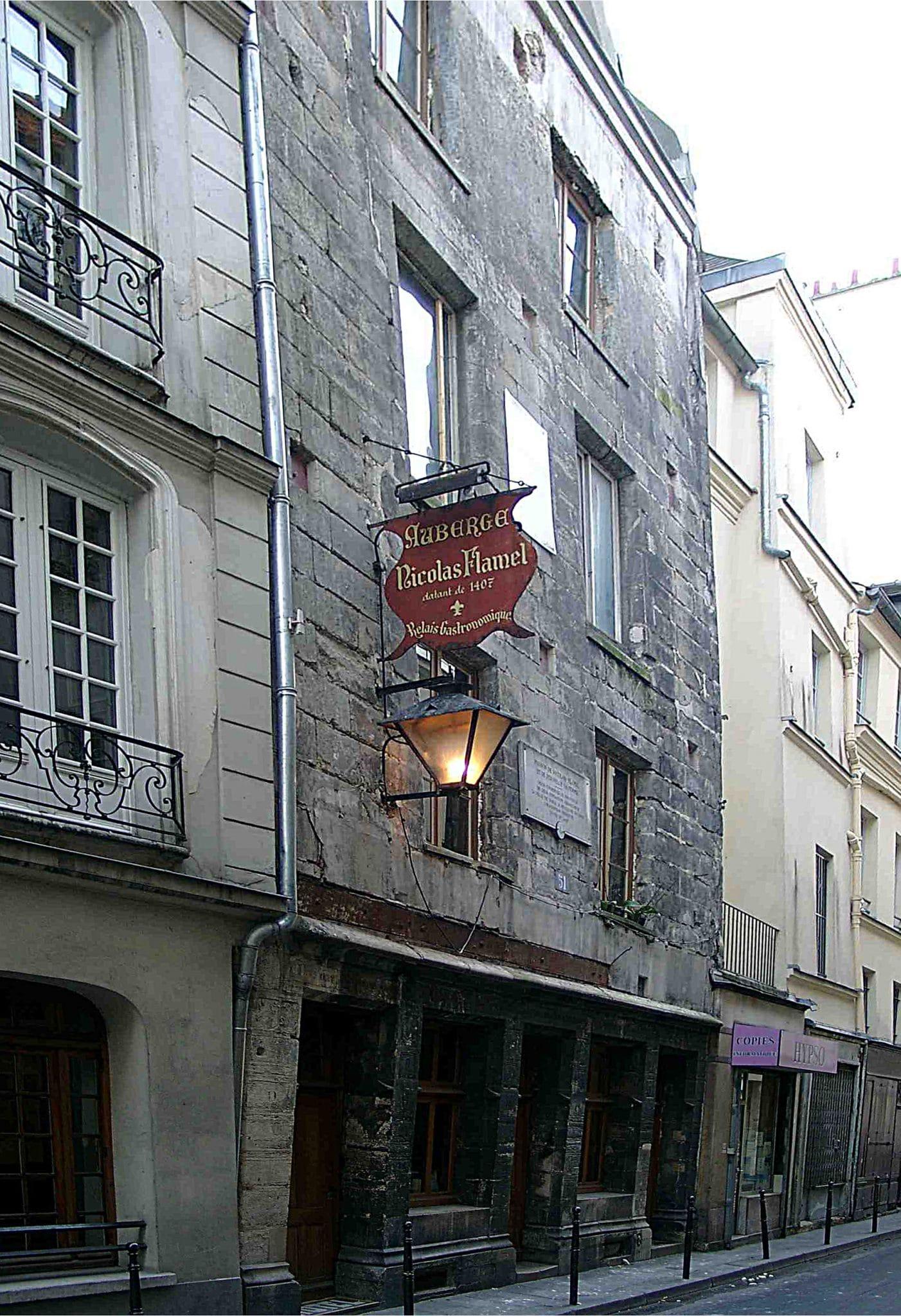 Paris-Auberge-Flamel maison la plus ancienne histoire