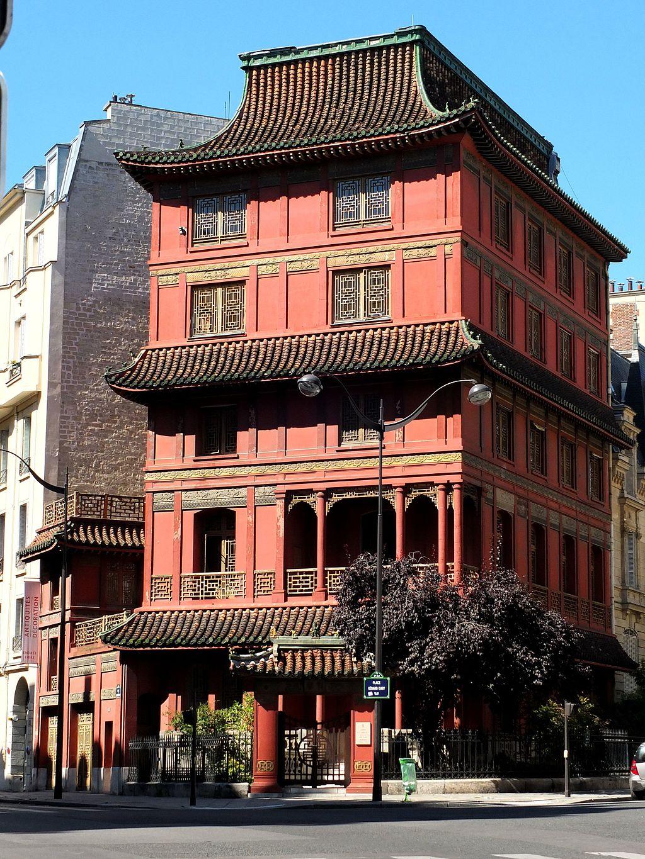 maison loo paris pagode pagoda histoire musée privé arts asiatiques façade