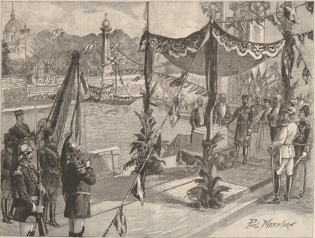 Histoire et secrets Pont Alexandre III Paris