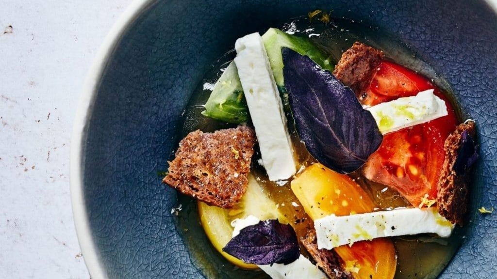 polichinelle pop up paris galeries lafayette gourmet michalak restaurant healthy légumes végétarien