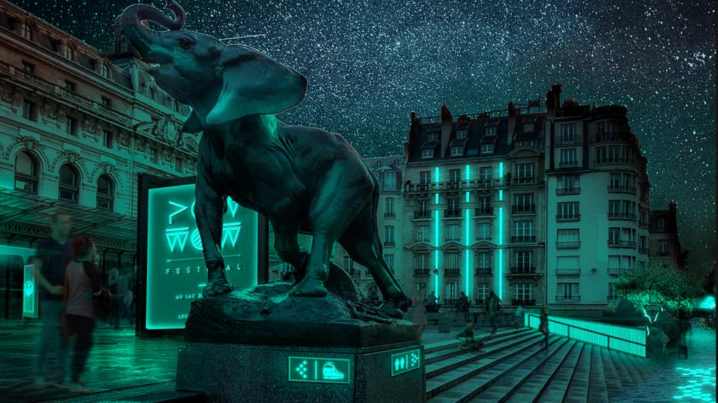 Ile de France Rambouillet première commune éclairage bioluminescent Glowee bioluminescence