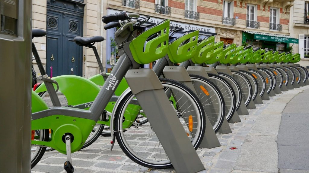 velib paris station plus + place vélo location paris électrique