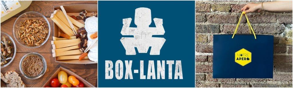 Box apéro Notre apéro BOX LANTA insectes grillés Koh Lanta