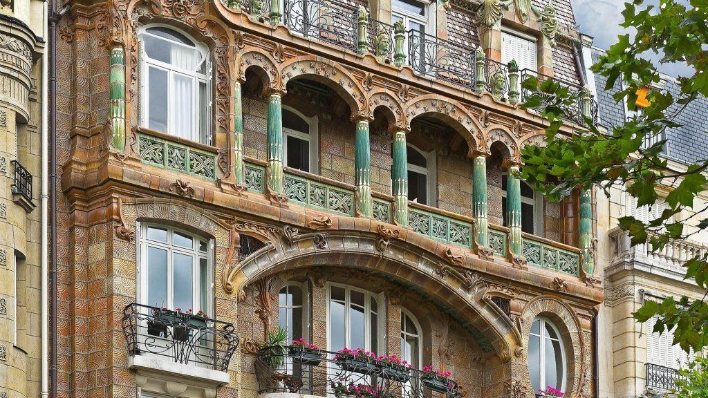 immeuble lavirotte paris histoire art nouveau architecture façade