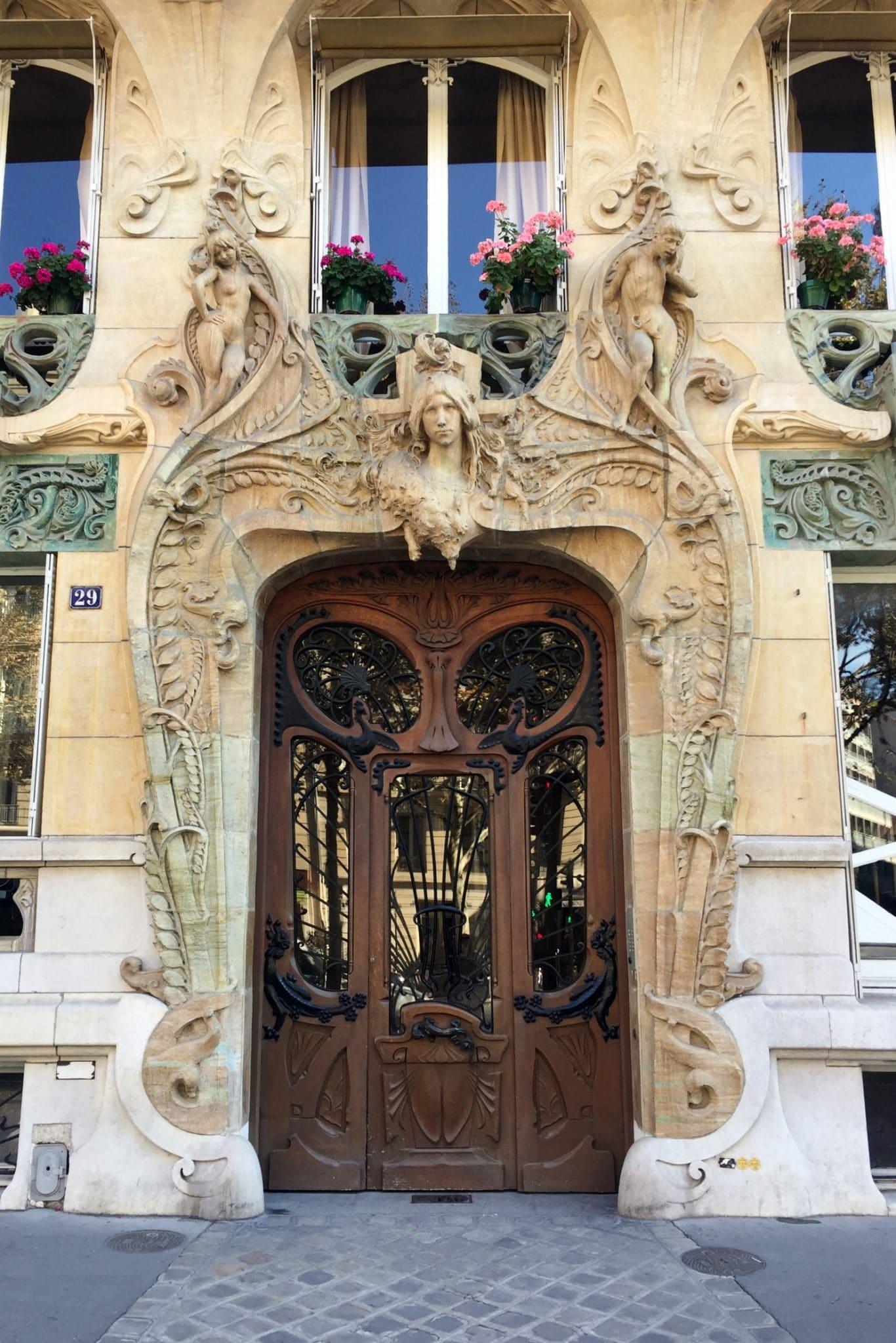 immeuble lavirotte paris histoire art nouveau architecture façade 2