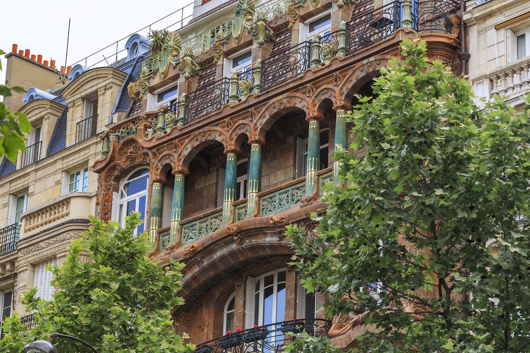 immeuble lavirotte paris histoire art nouveau architecture façade 1