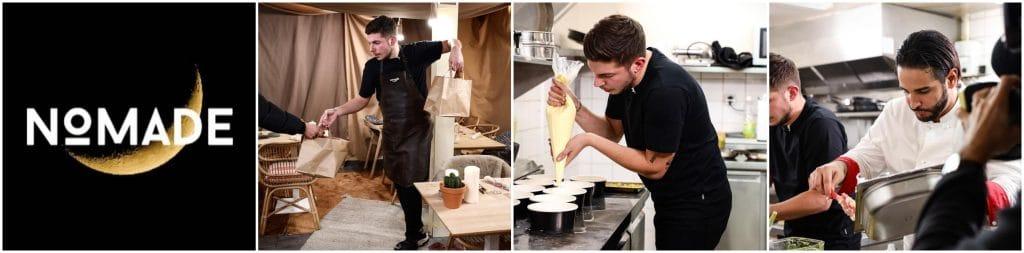 Nomade la Guerre des Restos Top Chef livrés Uber Eats Matthias Mohamed