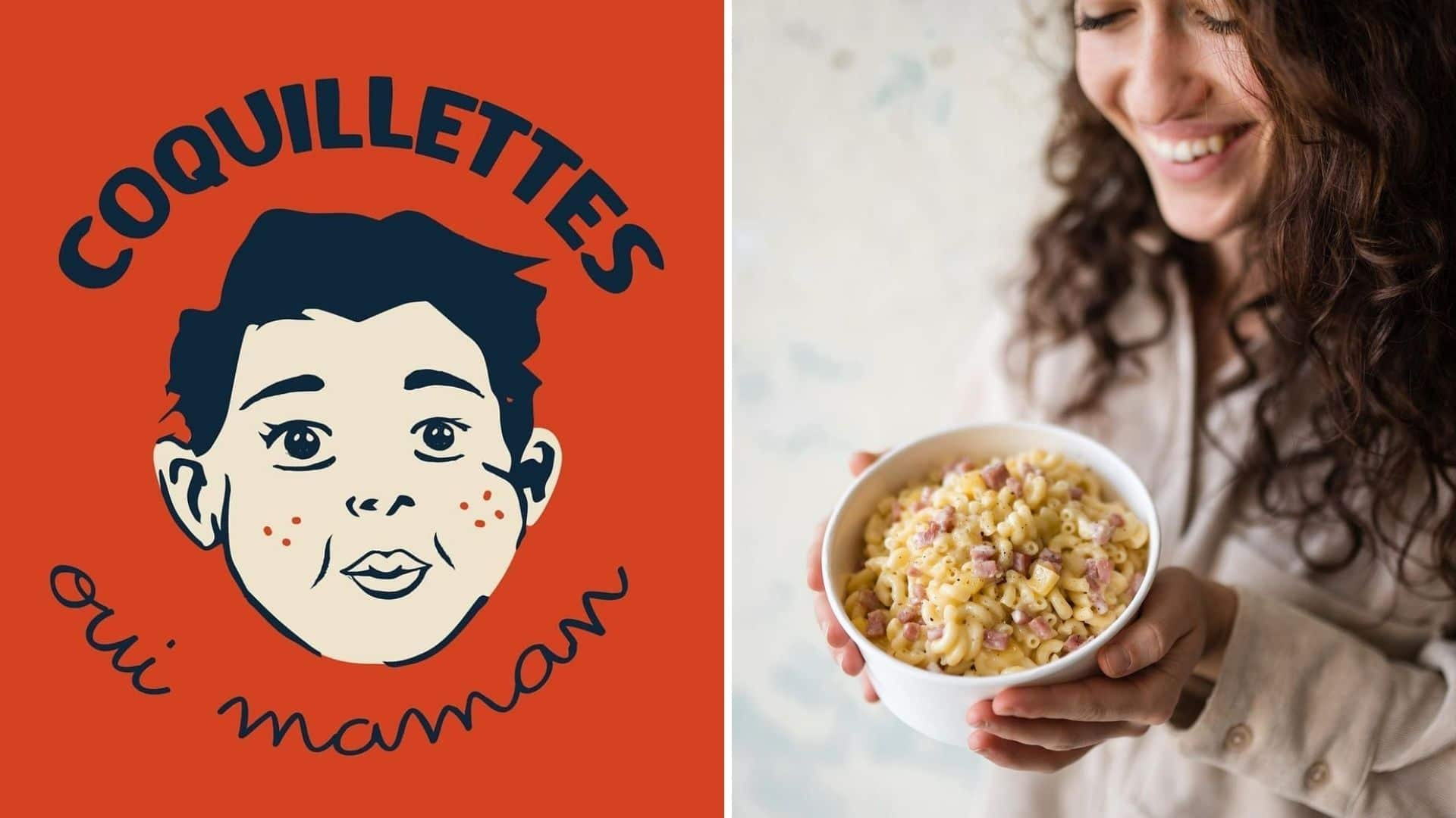 Coquillettes oui maman paris livraison repas enfance pâtes comfort food 1