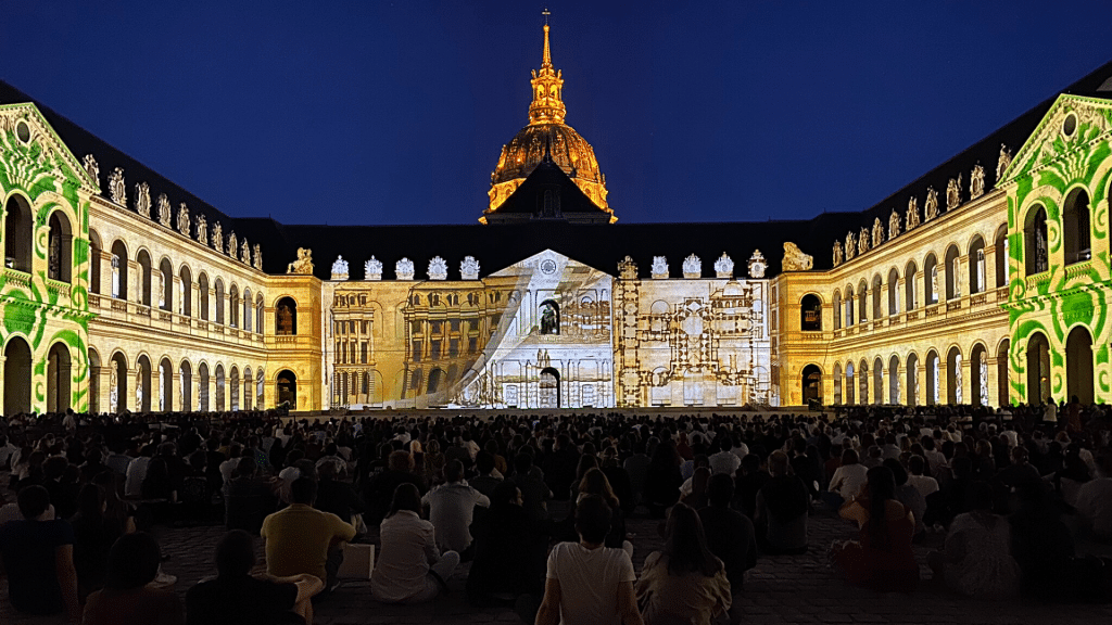 La nuit aux Invalides 2021 Paris show sons & lumières