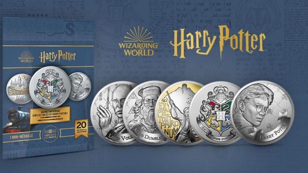 monnaie de paris pièces harry potter collection spéciale édition limitée