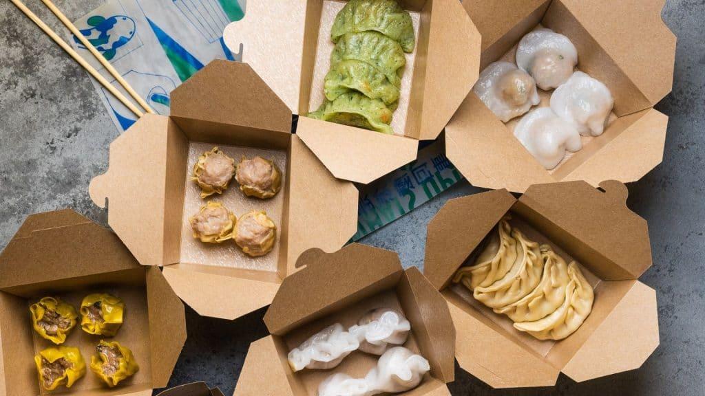 paris livraison dumpling street food asie raviolis vapeur