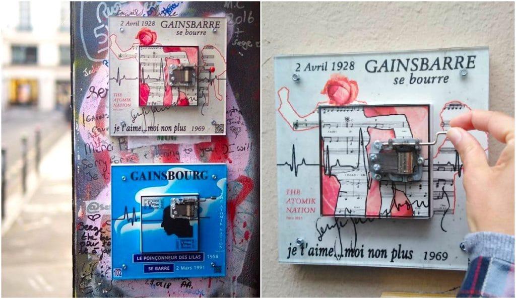 Street art : ils créent et installent de splendides boites à musique sur les murs de Paris !