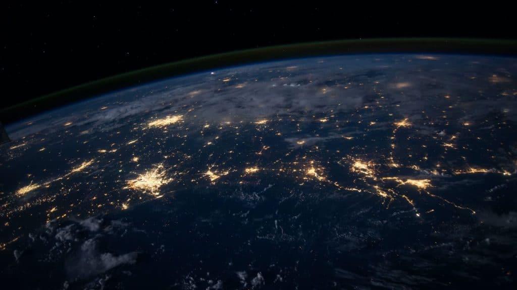 Une incroyable photo de Paris depuis l'espace prise par l'astronaute Thomas Pesquet !