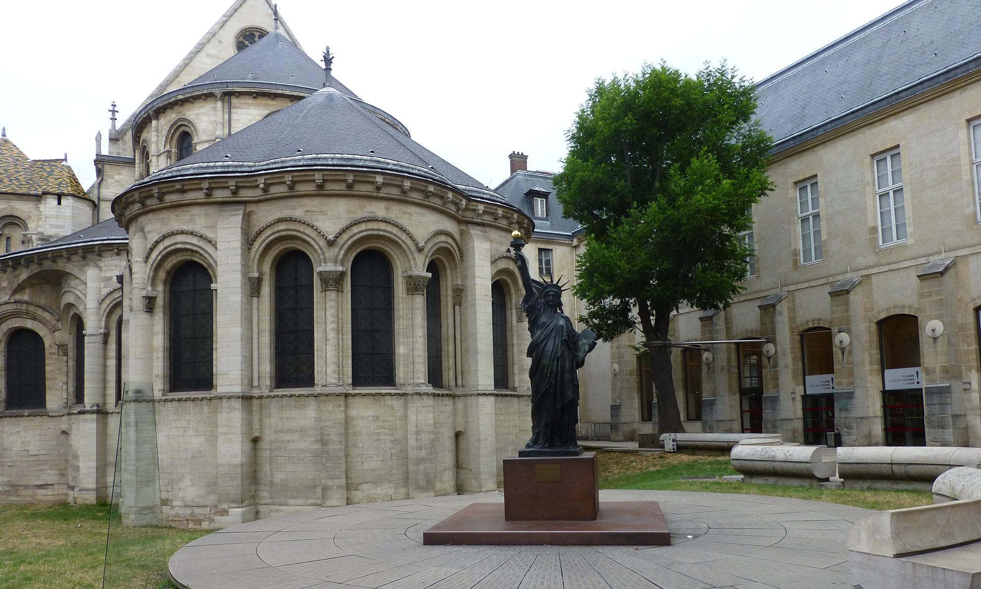 statue de la liberté paris etats unis new york washington musée des arts et métiers