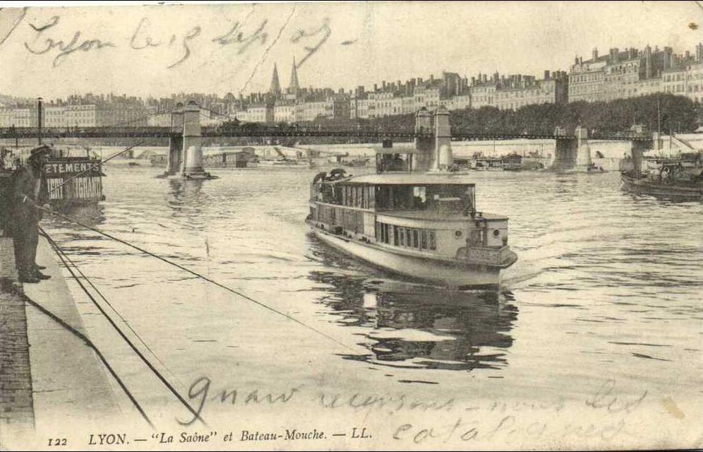 bateaux mouches histoire lyon paris saone seine