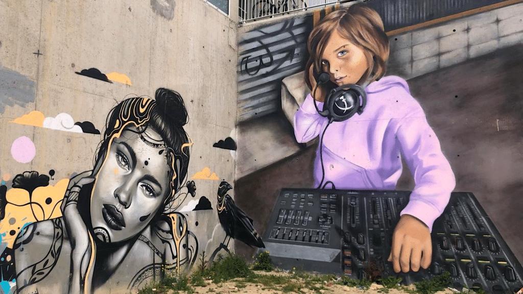 Spot 13 Galerie éphémère à ciel ouvert street art Paris