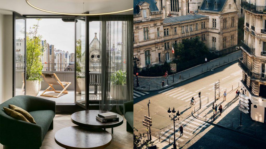 Offre nuit Hôtel 4**** Paris Hôtel National Arts et Métiers Dîner, vin, massage, petit-déjeuner