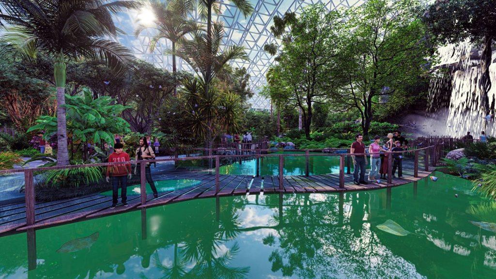 Tropicalia plus grande serre tropicale au monde France