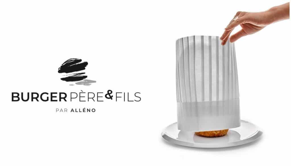 """""""Burger Père & Fils"""" Chef Yannick Alléno Beaupassage"""