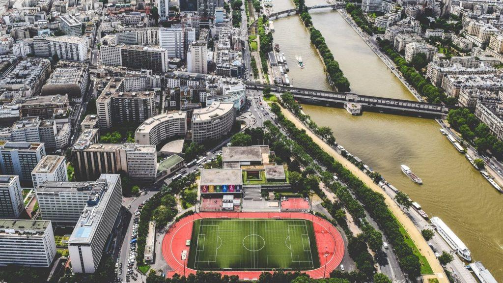 histoire sport stades lieux sportifs paris