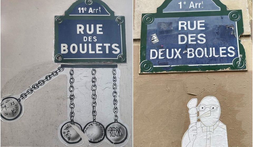 Paris : Les noms de rues les plus insolites de la capitale !