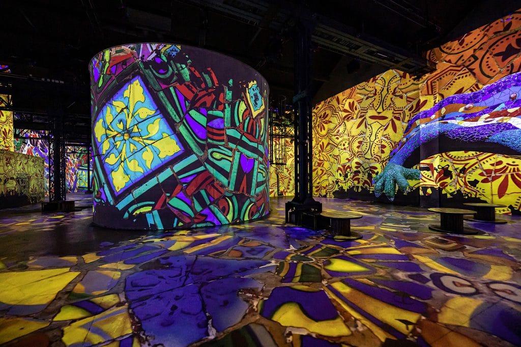 Dali Gaudi Atelier des Lumières Paris expo immersive