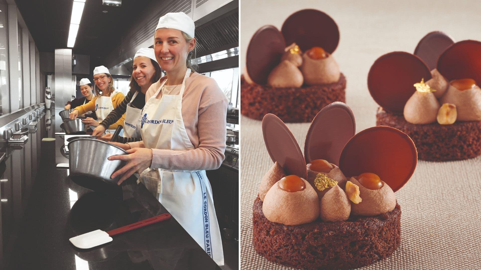 patisserie concours fever chef le cordon bleu paris top chef muffin cookies gastronomie