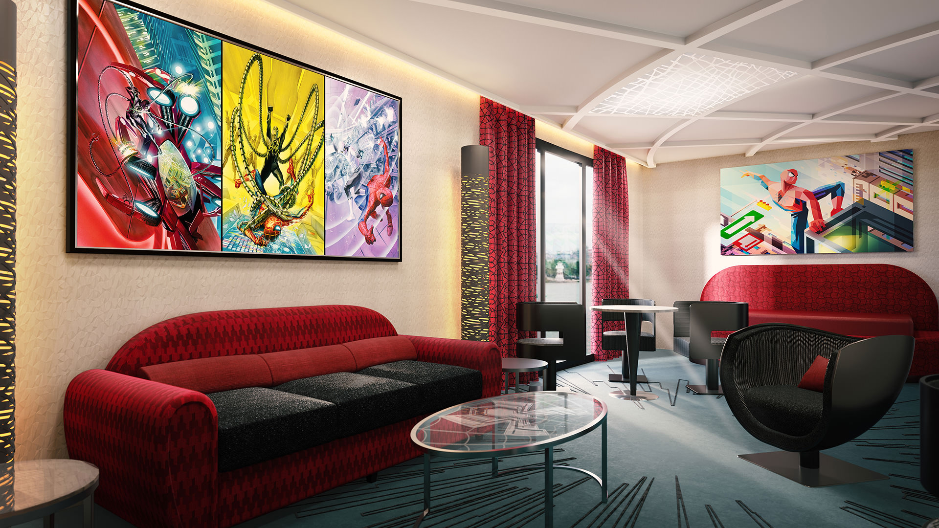 disneys-hotel-new-york-the-art-of-marvel-suite-spiderman