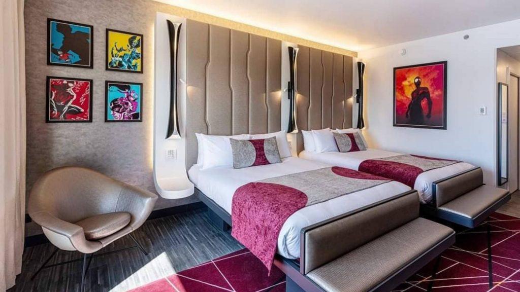 disney hotel new york art of marvel paris images disneyland réouverture