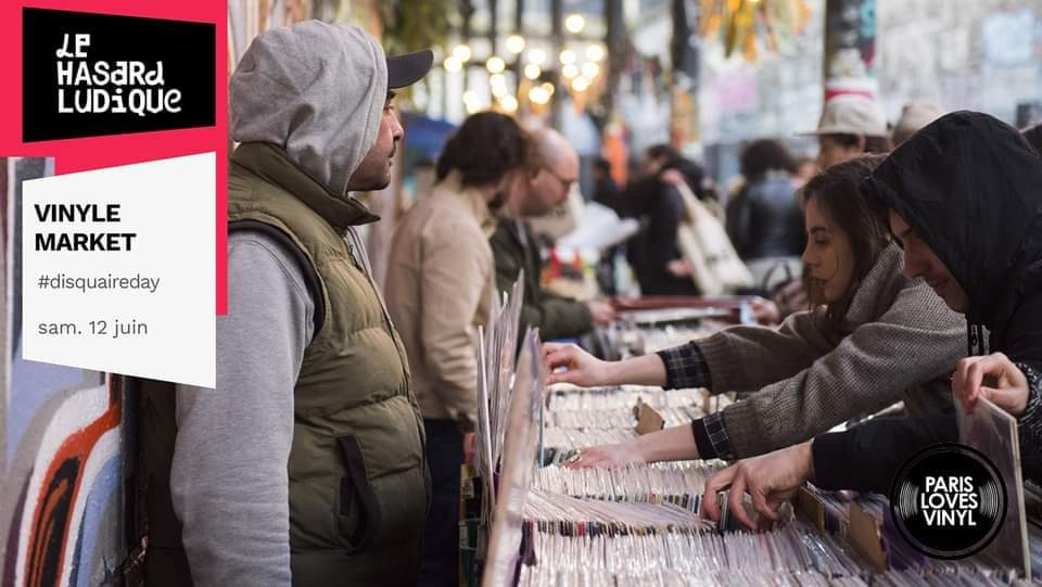 Vinyl Market XXL 15 000 vinyles juin 2021 Hasard Ludique Petite Ceinture