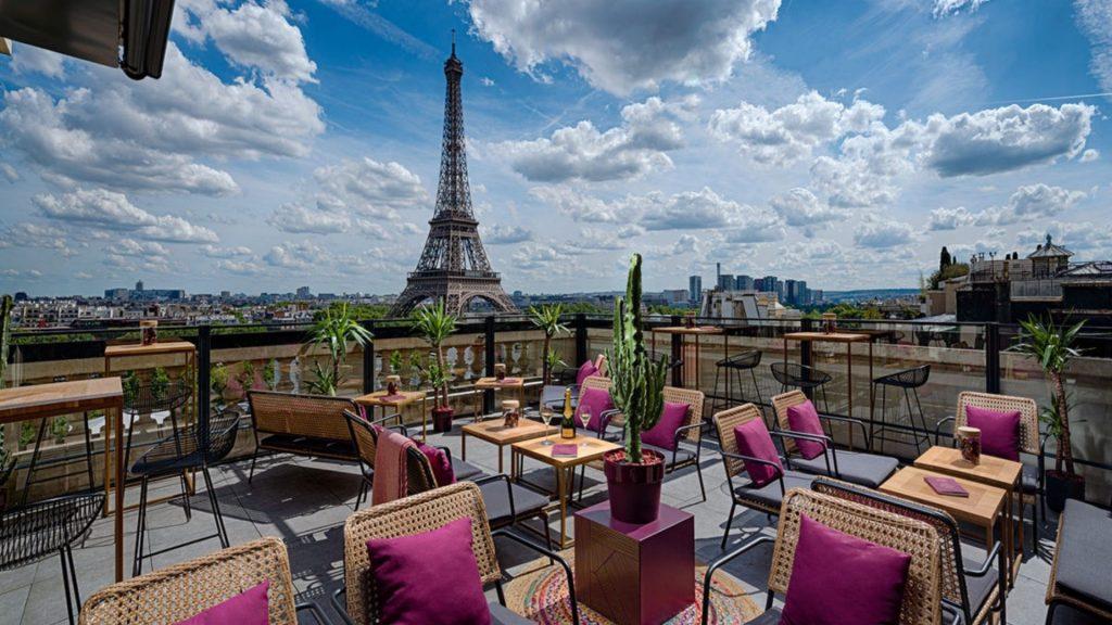 shangri-la réouverture paris hotel palace terrasse rooftop bar plein air restaurant