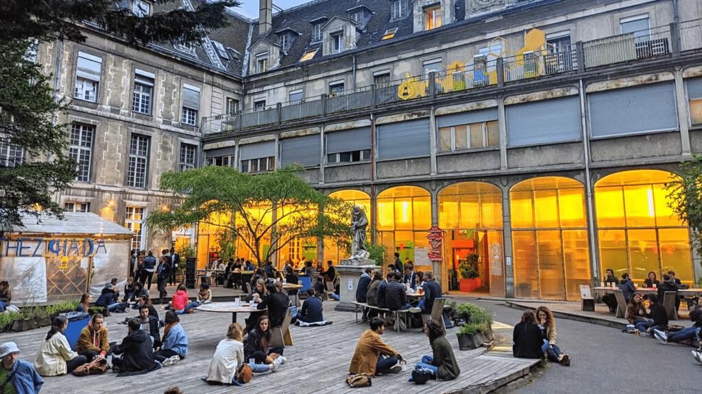 """Nouveau """"Grands Voisins"""" ouvre Paris 12 2021"""