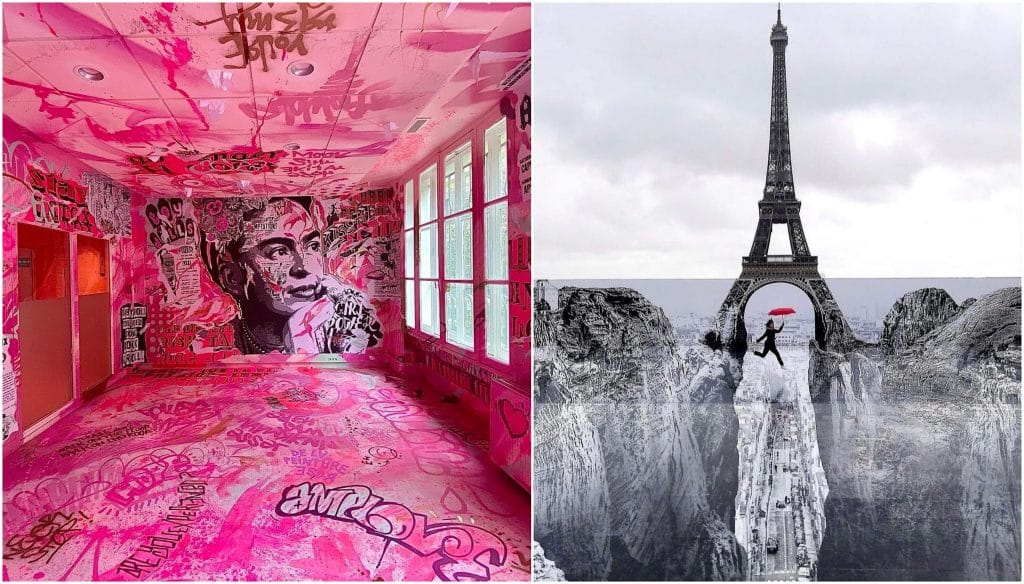 Spots de street art Paris en ce moment mai juin 2021